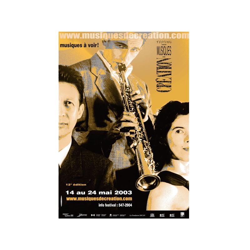 Festival des musique 2003