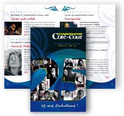 Le Café-théâtre le Côté-Cour « 25 ans d'intuitions! »